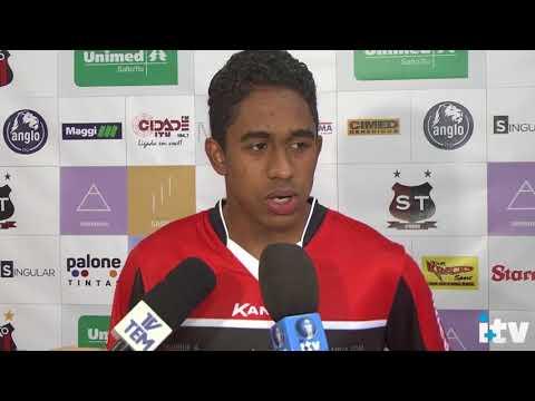 Matheus Souza Jogador Profissional Orgulho da Cidade de São lourenço da Serra no Ituano Futebol Clube