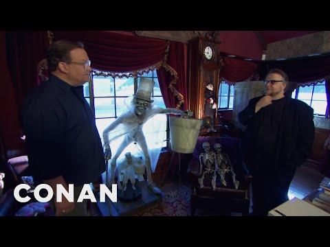 Andy na návštěvě u Guillerma Del Tora - CONAN