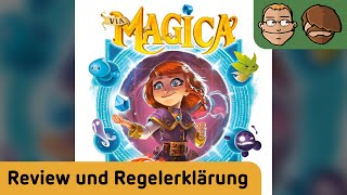 Via Magica - Brettspiel - Review und Regelerklärung