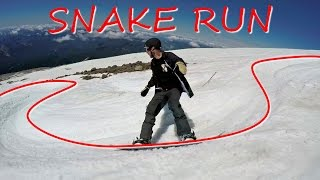 #7 Snowboard intermediate – Snake run tips