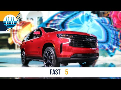 The 4 BEST and WORST things about the 2021 CHEVY TAHOE | FAST 5