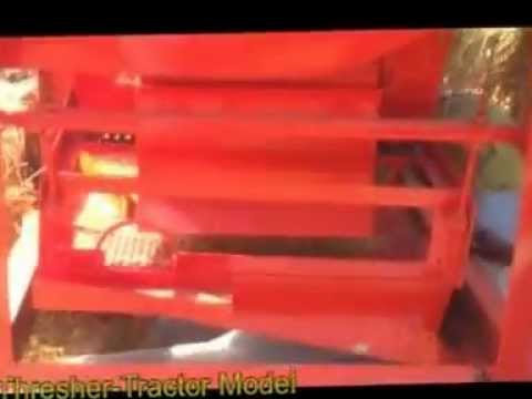 Paddy Rice Thresher Fan Model