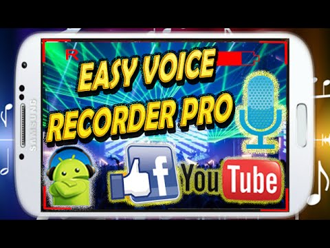 Descargar Descargar Easy Voice Recorder PRO FULL APK | Android 2015 para celular #Android