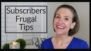 25 FRUGAL LIVING HABITS (From My Viewers) PART 1 | Financial Independence | JENNIFER COOK