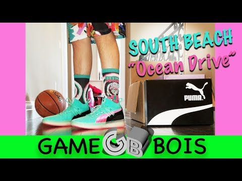 """Puma Clyde Court Disrupt South Beach/ """"Ocean Drive"""" Review and On Foot"""
