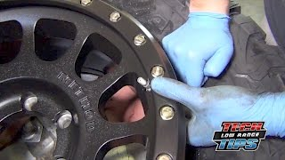 Tire Pressure Monitoring System (TPMS) Sensor Replacement