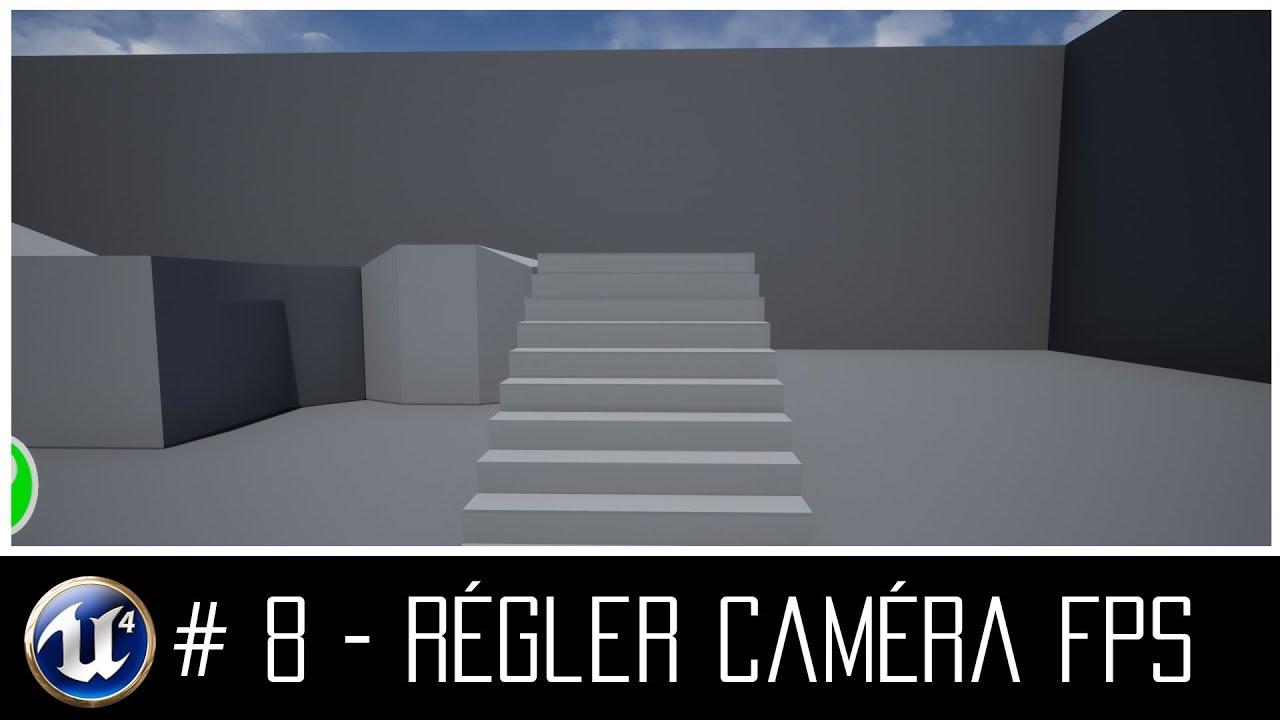CDVFX UE4 - Créer un jeu vidéo avec Unreal Engine 4 ( Caméra FPS )