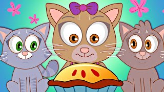 Three Little Kittens | Nursery Rhymes for Babies from HooplaKidz