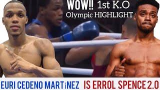 Errol Spence 2.0 EURI CEDENO MARTINEZ Olympic devastating KNOCKOUT