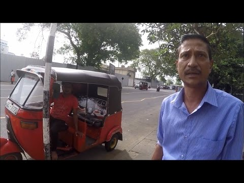 Tuk Tuk Scammers  Colombo  Sri Lanka  2016
