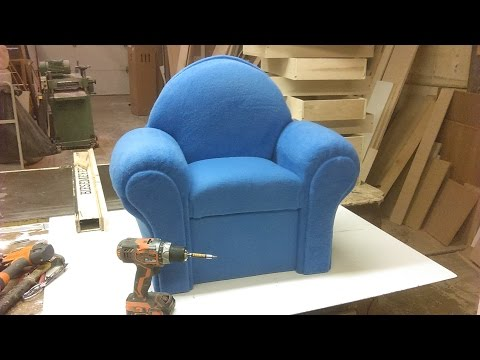 how i make a small couch chair