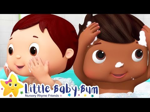 Bath Song | Healthy Habits Song for Kids +More Nursery Rhymes & Baby Songs | Little Baby Bum