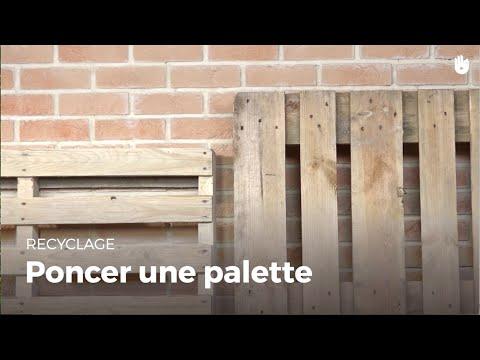 Apprendre à poncer une palette   Recycler comment poncer une palette ? - 0 - Comment poncer une palette ?