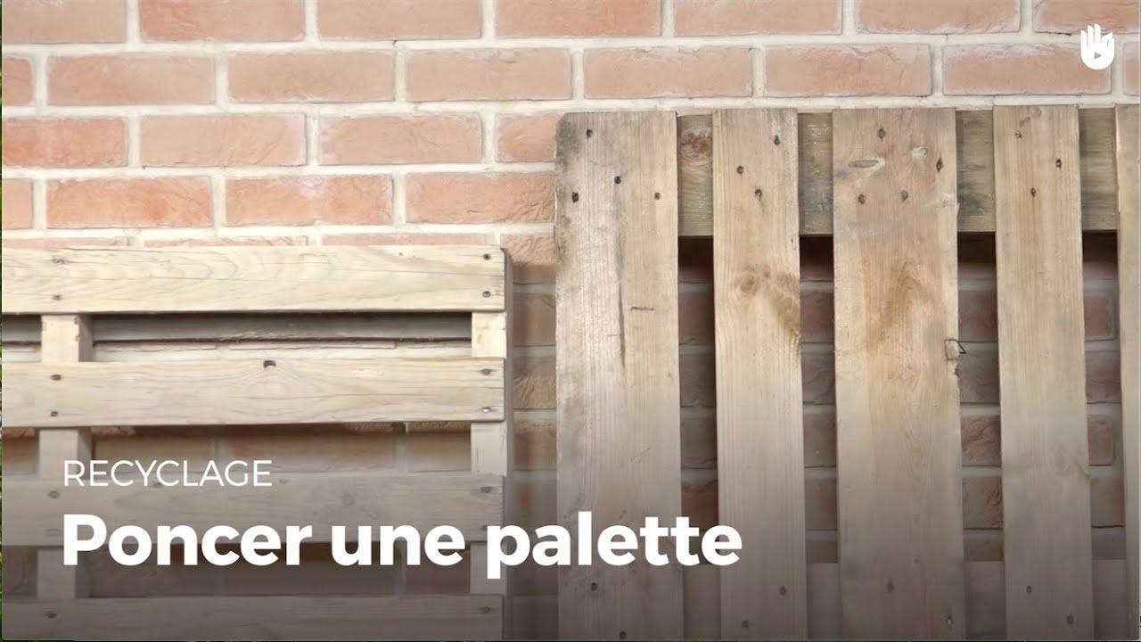 apprendre poncer une palette fabriquer des meubles avec des palettes sikana. Black Bedroom Furniture Sets. Home Design Ideas