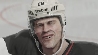 Jaromir Jagr - Career Player Ratings (EA Sports NHL)
