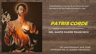 Conferencia de San José: CON CORAZÓN DE PADRE