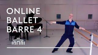Ballet Barre 4 (Online Ballet Class) - Dutch National Ballet