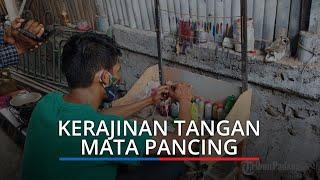 Berawal Hobi Memancing, Pria di Padang Ini Justru Jadi Produsen Mata Pancing