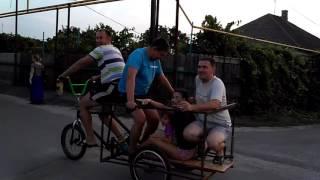 Дюдя велосипедист