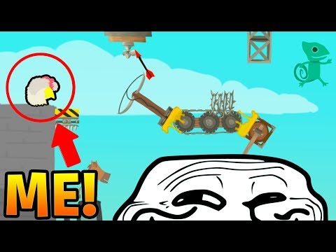 SAVE ME FROM MY FRIENDS BEFORE I RAGE QUIT! - ULTIMATE CHICKEN HORSE! (видео)