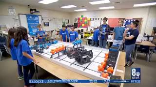Robotics Team on Channel 8 New What