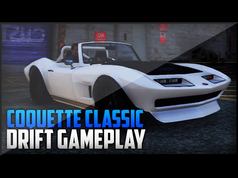 GTA 5: Coquette Classic Drift Build & Drift Gameplay (No Cheats/Mods)