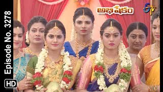 Abhishekam | 18th July 2019 | Full Episode No 3278 | ETV Telugu