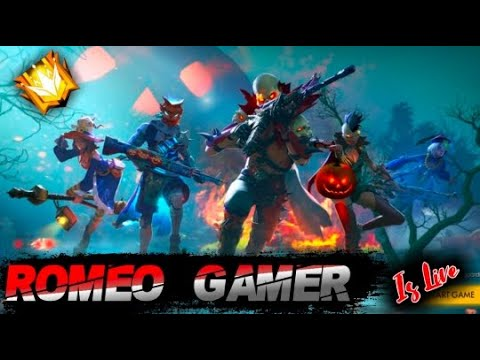 free fire live !! New Update Rush gameplay with Romeo Gamer🔴⚫