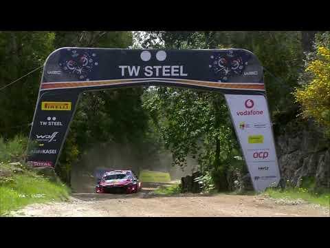 FIA WRC 2021 第4戦ラリー・ポルトガル 土曜日のダイジェスト動画2/2