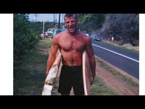BING Hawaiian Gun For Fred Van Dyke shaped by Mike Eaton