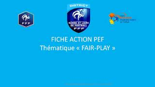 P.E.F FAIR PLAY saison 2020-2021