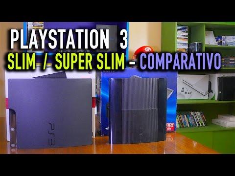 PLAYSTATION 3 SLIM / SUPER SLIM - Comparativo
