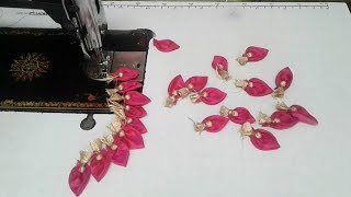 simple patch work blouse design cutting and stitching
