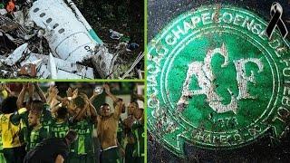 EL ACCIDENTE DE AVIÓN DE CHAPECOENSE | Reportajes de fútbol, homenaje al club Brasileño