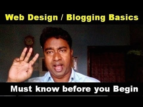 Important Things you must Know before Creating a Blog / Website !! Tutorial - 1