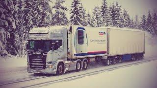 Тест-драйв Scania, скандинавская сцепка