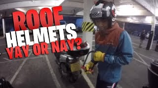 ROOF HELMETS.. YAY OR NAY? | MT 07