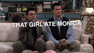 FRIENDS HUMOR ― FUNNY MOMENTS