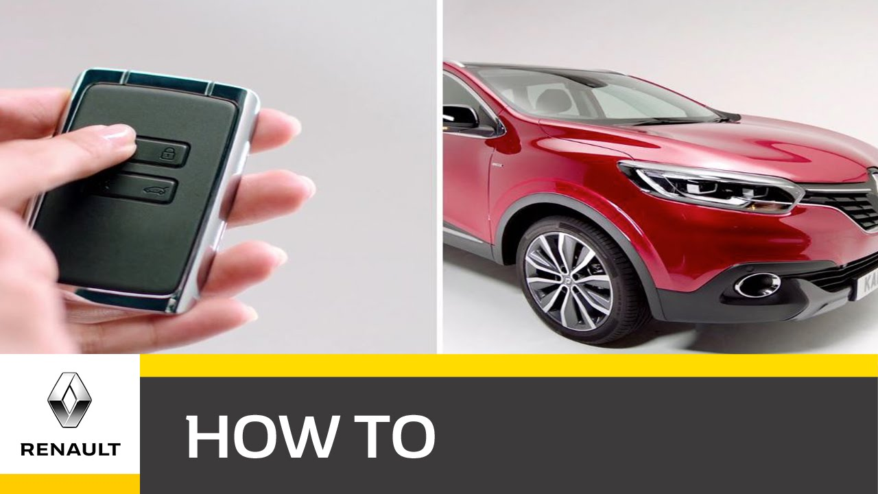 How do I use the Renault Key Card in my KADJAR?