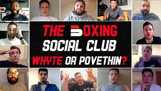 WHO WINS: Whyte or Povetkin? | FANS, JOURNALISTS & YOUTUBERS PREDICT | The Boxing Social Club