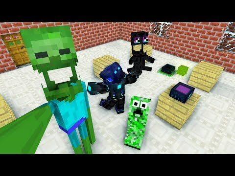 MONSTER SCHOOL : BREWING ENDERMAN - MINECRAFT ANIMATION