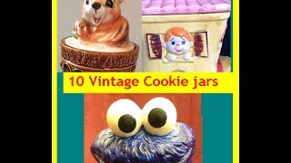 10 Vintage And Fun Novelty Cookie Jars & What They Are Worth