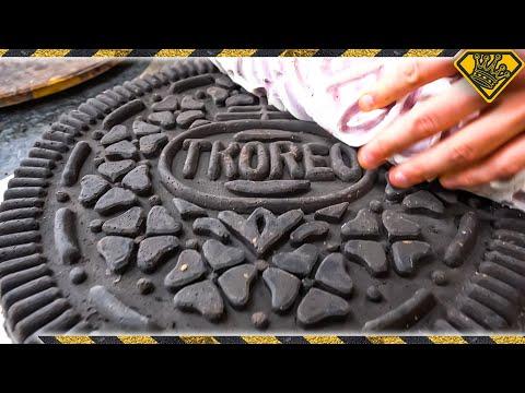 Baking the First ULTRA Stuffed Oreo