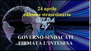 SCUOLA NEWS EDIZIONE STRAORDINARIA.  FIRMATA INTESA GOVERNO-SINDACATI