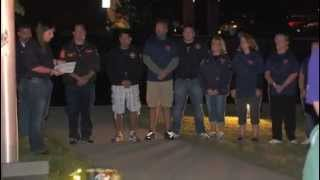 preview picture of video 'Armonk Fire Department 9/11 Service'