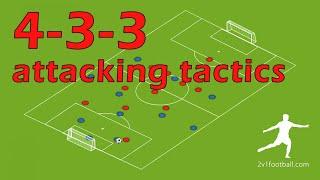 4-3-3 attacking patterns