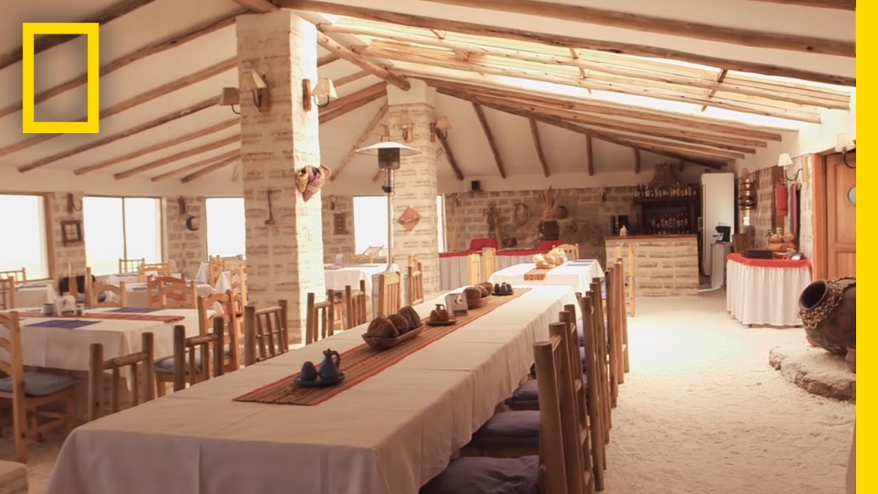This Hotel Is Made Entirely of Salt | National Geographic thumbnail