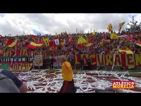 """""""El color Juego de Leyendas  Atlético Morelia Vs Club Gdl."""" Barra: Locura 81 • Club: Monarcas Morelia"""