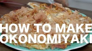 How to Make Okonomiyaki