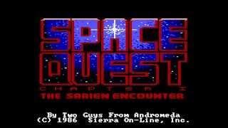Picture of a game: Space Quest II